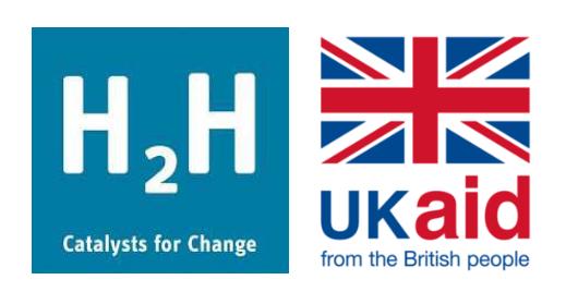 H2H UK Aid logo